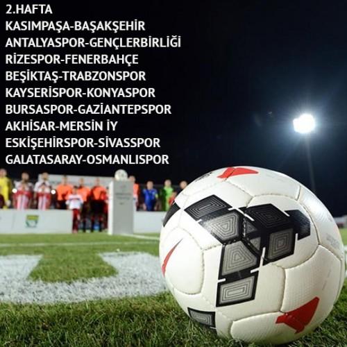 Spor Toto Süper Lig 17 Hafta Lig Fikstürü