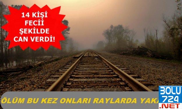 14 KİŞİ Tren Rayların Fecii Şekilde Can Verdi! Onlar Hep Ölüyorlar!