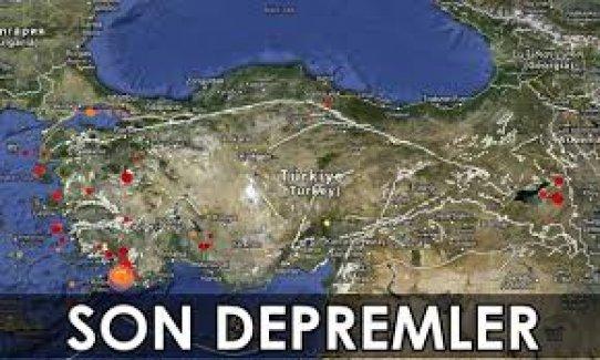 Deprem Uzmanı Ahmet Ercan Korkuttu! Fay Kırığı Kımıldadı! İŞTE SON DEPREMLER