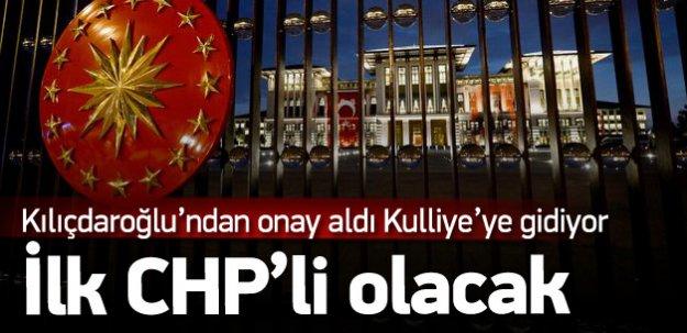 İşte Reis-i Cumhuru Külliyede Ziyaret Edecek İlk CHP'li!