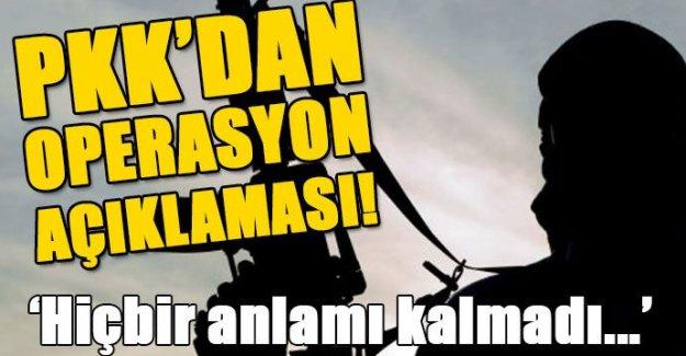 PKK, 'Ateşkesin Anlamı Kalmadı'