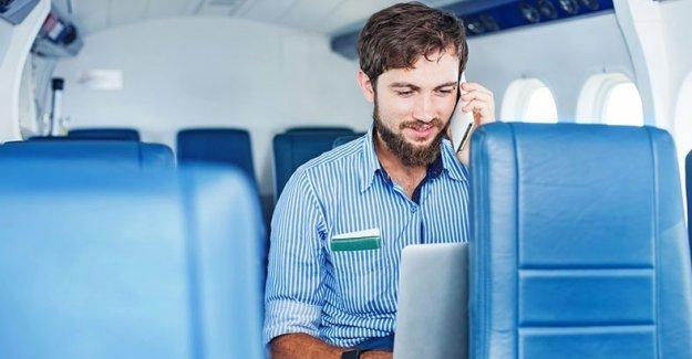 Uçakta Cep Telefonu Serbest