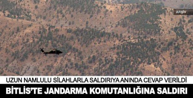 Bitlis'te jandarma komutanlığına saldırı sonucunda çıkan çatışmada 6 terörist öldürüldü.