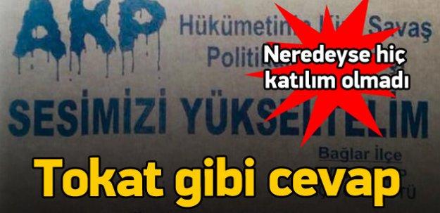 HDP Doğu ve Güneydoğu'da Kürt Halkını Sokağa Dökemiyor