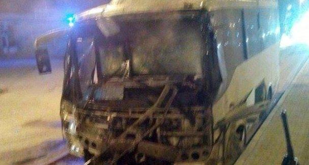 Polisleri Taşıyan Midibüs'e Roketatarlı Saldırı! Çok Sayıda Yaralı Var