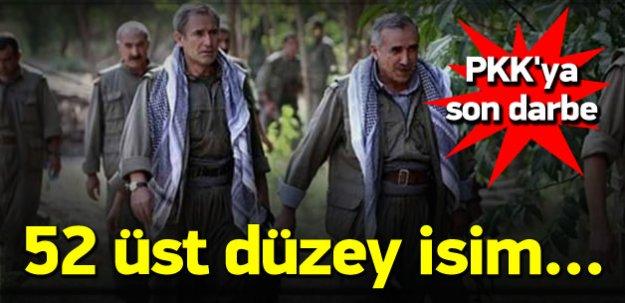 PKK Son Darbe! 52 Üst Düzey Yönetici..!