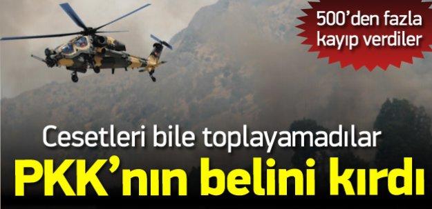 PKK'ya Büyük Darbe! Cesetleri Dahi Toplayamadılar!