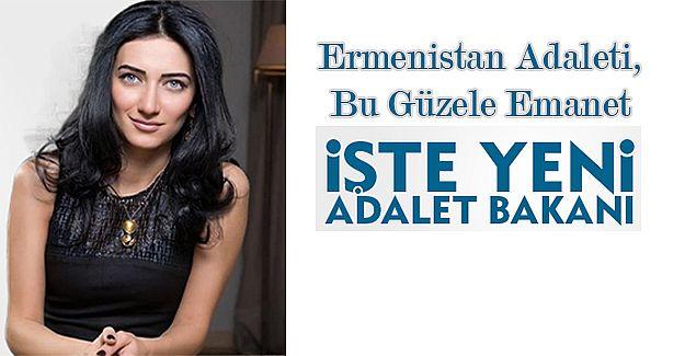 32 Yaşındaki Güzel, Arpine Hovhannisyan Ermenistan Adalet Terazisini Elinde Tutuyor!