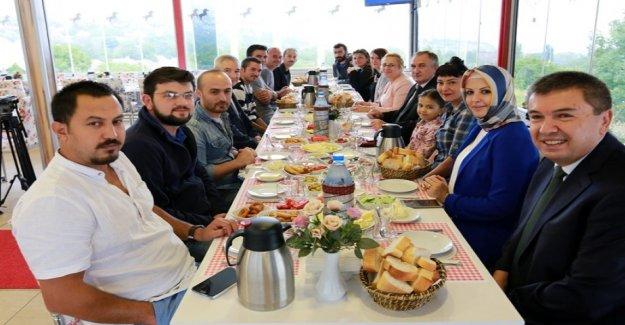 Bolu Belediye Başkanı Alaaddin YILMAZ, Basın'la Bir Araya Geldi