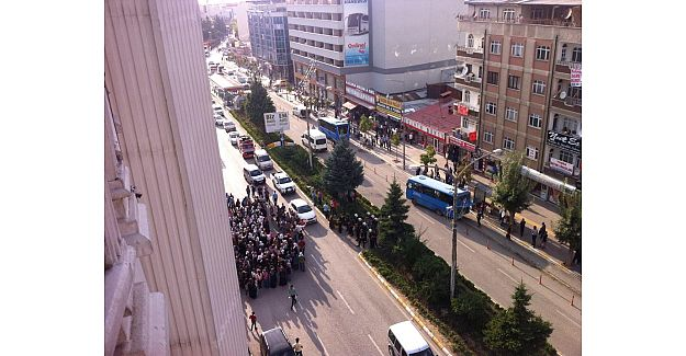 HDP'li Kadınlar Van'da Protesto Yaptı..