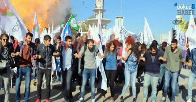Ankara Tren Garındaki Patlama Anı!
