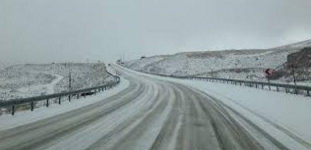 Erciyes Dağına Kar Yağdı!