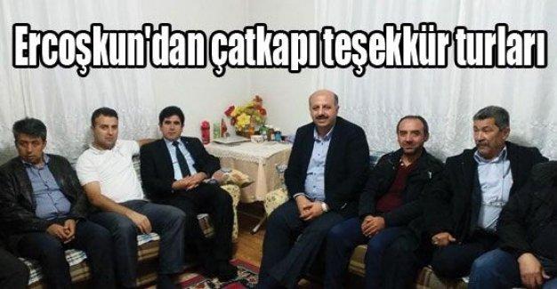 Ak Parti Bolu Vekili Ali Ercoşkun'dan Teşekkür Ziyaretleri