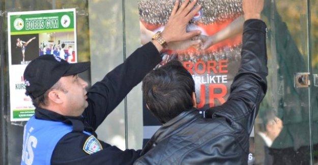 Bolu'da Polis İle Öğrenciler Halkı Bilgilendiriyor! TERÖRE DUR!