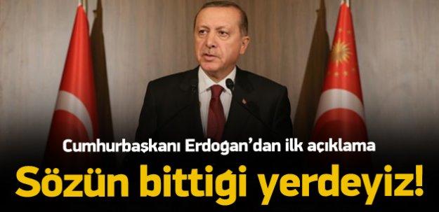 Cumhurbaşkanı Erdoğan: İzahı Mümkün Değildir!