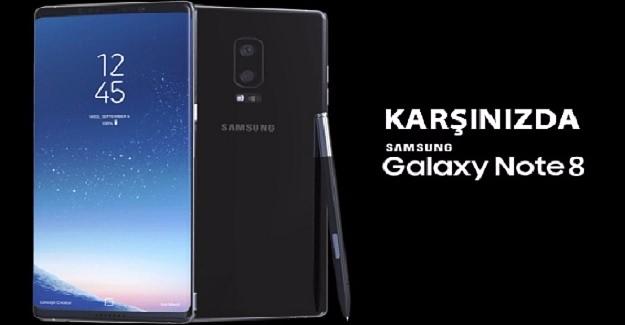 Karşınızda Galaxy Note 8