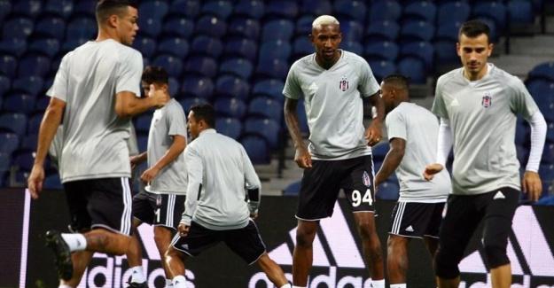 Beşiktaş'ın Porto Maçında Sahaya Süreceği Kadro Belli Oldu