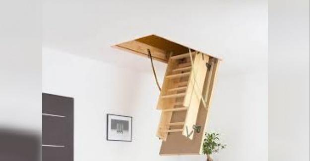 Evidea Çatı Merdiveni