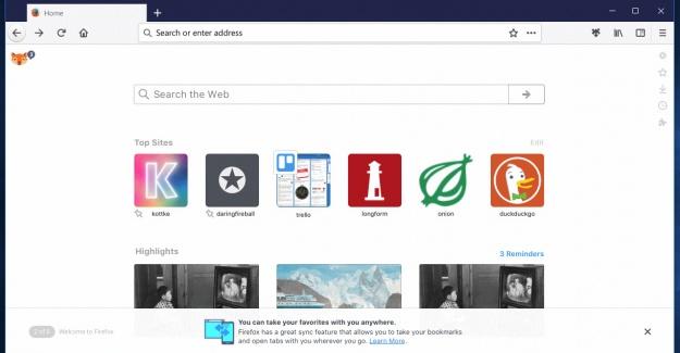 Işık Hızında Firefox 57 Ekim'de Geliyor