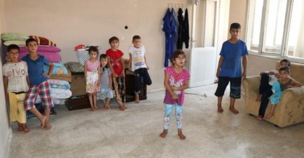 16 Çocukla Tek Odalı Evde Yaşam Mücadelesi Veriyor