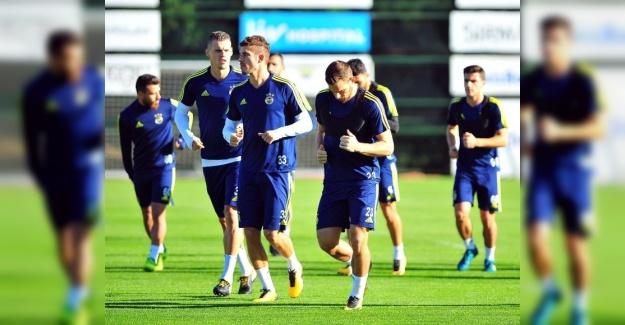 Fenerbahçe Evkur Yeni Malatyaspor Maçı İçin Hazırlıklarını Sürdürüyor