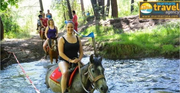 Marmaris At safari turu ile Doğayala iç içe bir Tatil