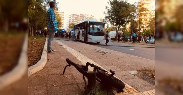 Mersin'de Polis Servisine Bombalı Saldırı Yapıldı