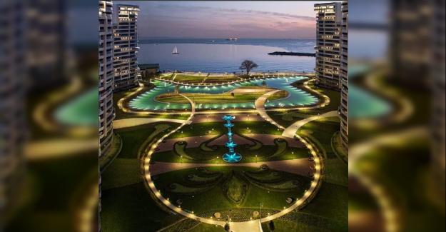 Manzaralı Kat Bahçeleriyle Sea Pearl Ataköy