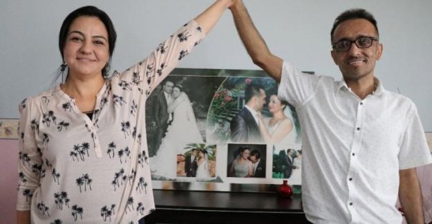Sevgisiyle İki Kez Kanseri Yenerek Yaşama Tutunma Mücadelesi Gösterdi