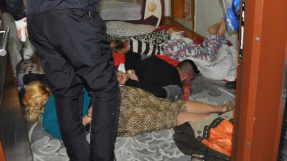 Denizli'de Uyuşturucu Tacirlerine Şafak Baskını