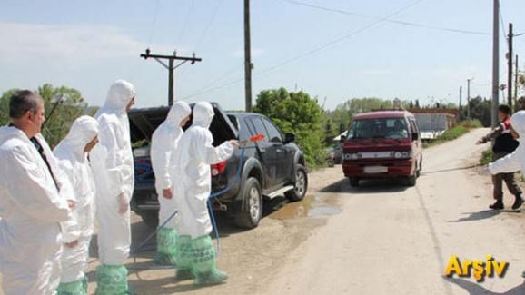 İlçede Görülen Şap Hastalığı 15 Mahalleyi Karantinaya Aldırdı