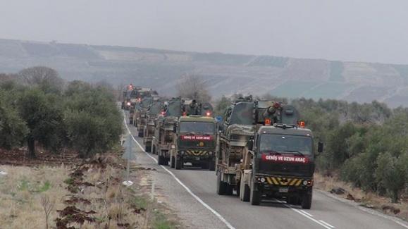 TSK Tarafından Afrin'e Askeri Sevkıyat Başladı