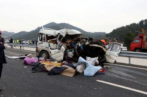 Kahramanmaraş'ta Trafik Kazası! 9 Kişi Öldü, 7 Yaralı