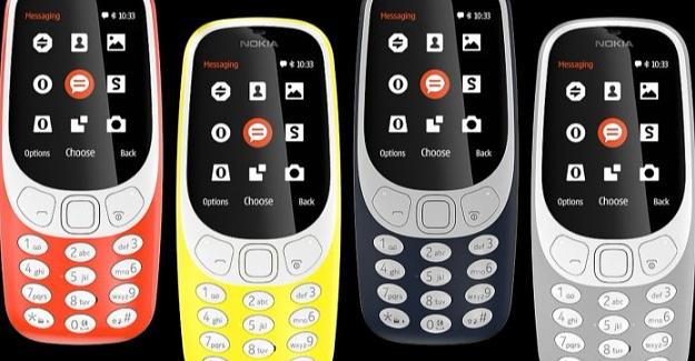 Nokia 3310 4G'nin Tanıtımı Yapıldı