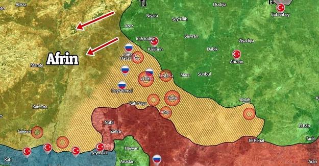 Zeytin Dalı Harekatı 24. Gün Özeti Kaç Terörist Öldürüldü?