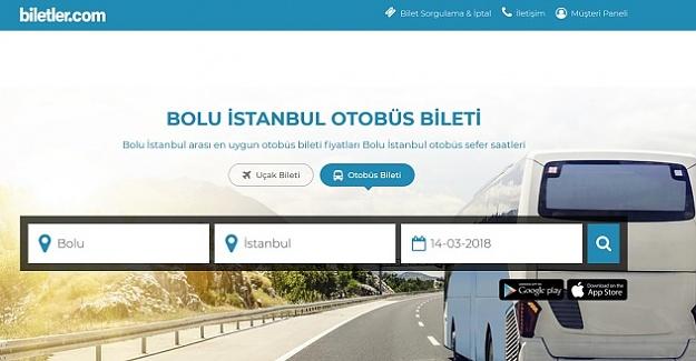 Bolu - İstanbul Otobüs Bileti