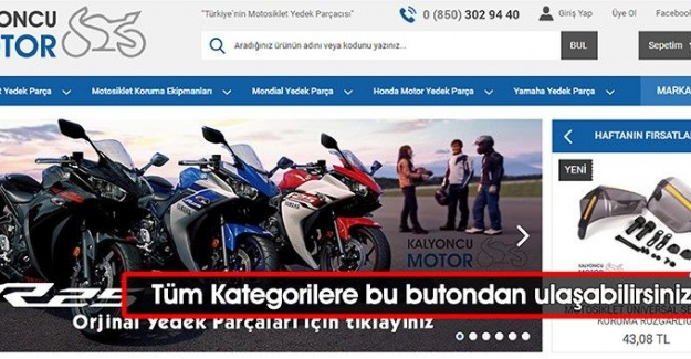 Motosiklet Kaskı | www.kalyoncumotor.com