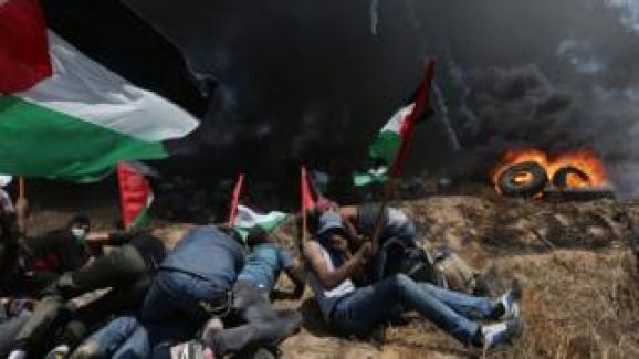 İsrail Filistin'de Katliam Yapıyor! 52 Şehit, 2 Bin Yaralı