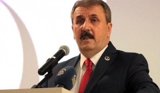 BBP Başkanı Destici: HDP Barajı Aşamazsa...