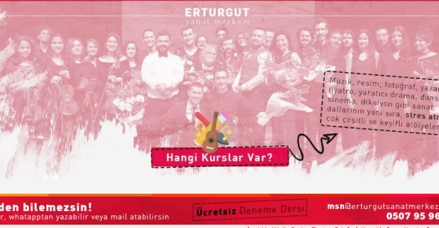 Genç Girişimci Murat Erturgut'tan Genç Bir Sanat Merkezi