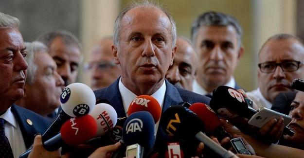 İnce'den CHP'li Vekillere: Onların da Genel Başkanı Olacağım!