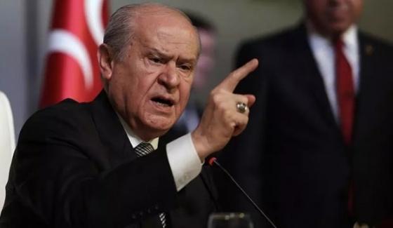 MHP Lideri Bahçeli'den PKK'ya: Şerefsizleri Boğacağız!