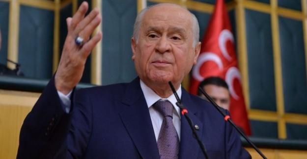 MHP Lideri Bahçeli'den Erdoğan'a Çağrı: Çuvala Sokulup Getirilsinler!