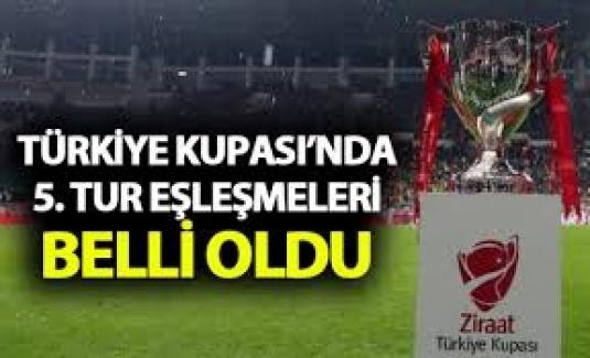 Ziraat Türkiye Kupası'nda 5. Ön Eleme Turu Eşleşmeleri Belli Oldu