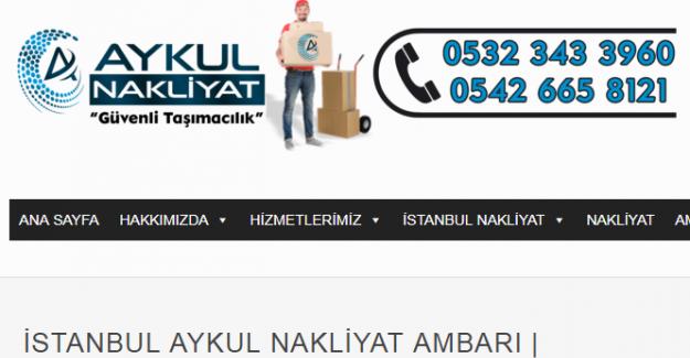 İstanbul Antalya Nakliyat Hizmetleri