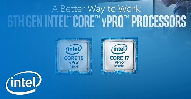 Intel yeni sekizinci nesil Intel Core vPro'yu paylaştı