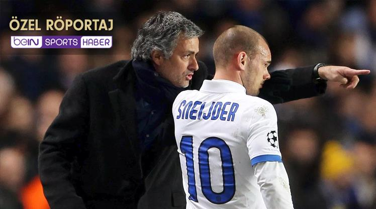 Mourinho'dan Sneijder İtirafı!