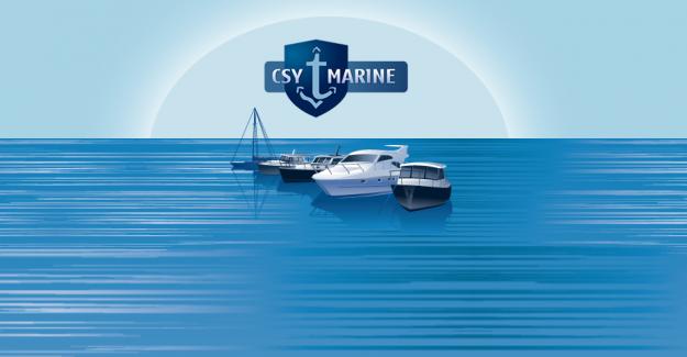Tekne Malzemeleri CSY Marine'de