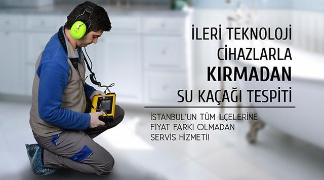 İstanbul Su Kaçağı Bulma