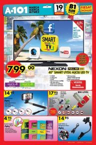 A 101 Aktüel (19 - 26 Mart Broşürü) A101 Market İndirimli Ürünler Listesi 879569678